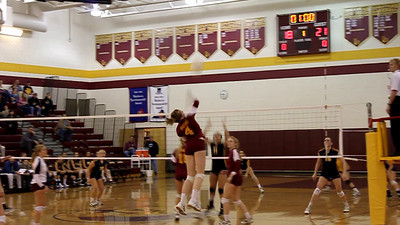 Loudoun County moves ahead 22-18 in game four.