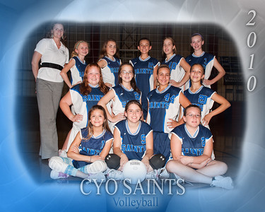 2010-09-22 CYO Saints Volleyball
