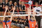18 September 2010:  Davidson women's volleyball loses 3-0 against Boise State at Belk Arena in Davidson, North Carolina.