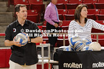17 September 2011:  Davidson takes on NC A&T in women's volleyball action at Belk Arena in Davidson, North Carolina.