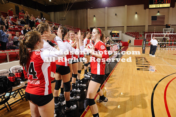 17 September 2011:  Davidson takes on Norfolk State during the Wildcat Classic in women's volleyball action at Belk Arena in Davidson, North Carolina.