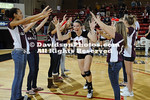 22 October 2011:  Davidson defeats UT-Chattanooga 3-0 in SoCon women's volleyball at Belk Arena in Davidson, North Carolina.