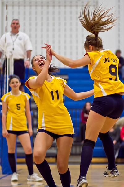 2011-12 Varsity Volleyball Season