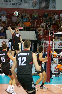 2011 NORCEA Mens Volleyball championship  CAN-DOM NORCEA 2011