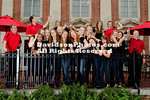 09 August 2012: Davidson women's volleyball poses for team pictures at Belk Arena in Davidson, North Carolina.
