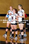 31 August 2012:  After a rocky first set, the Davidson volleyball team battled to a 3-2 win over the Winthrop Eagles to move to 2-0 on the season on Friday evening at the Wake Forest Invitational at Reynolds Gymnasium in Winston-Salem, North Carolina.
