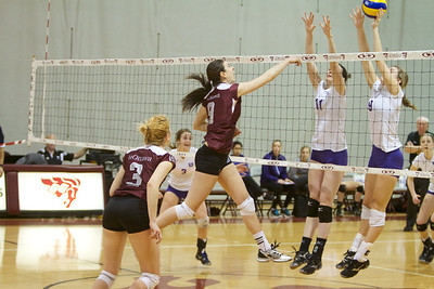 Western vs Ottawa U, Womens Volleyball