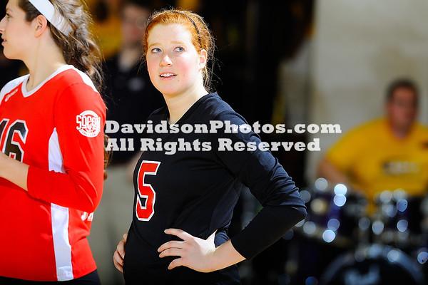 NCAA WOMENS VOLLEYBALL:  NOV 15 Davidson at UNC Greensboro