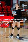 NCAA WOMENS VOLLEYBALL:  OCT 08 Davidson at Gardner-Webb
