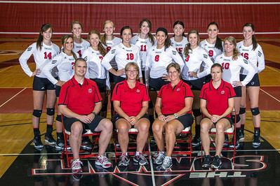 THE 2014 MAVERICKS: Front Row (L-R): Tony Taylor, Karen Povondra, Rose Shires, Tanya Cate. Middle Row: Bailey Baxter, Kelley Wollak, Michaela Schimmer, Diane Banderas, Kimberly Bailey, Rachelle Kruml. Back Row: Nicki Carson, Kristy Wieser, Megan Schmale, Amy Taylor, Amanda Conlin, Jessy Schroedter, Elise Brown.