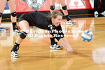NCAA WOMENS VOLLEYBALL:  OCT 01 Winthrop at Davidson