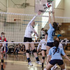 2014 Eagle Rock Girls Volleyball vs Wilson Mules