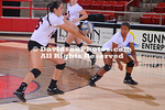 NCAA WOMENS VOLLEYBALL:  OCT 19 George Mason at Davidson