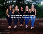 NCAA WOMENS VOLLEYBALL:  AUG 12 Davidson Team and Head Shots