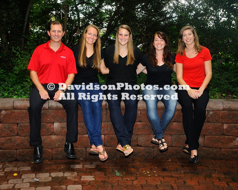NCAA WOMENS VOLLEYBALL:  AUG 12 Davidson Team and Head Shots