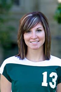 "#13 Sara Brunner 5'9"" Freshman Middle Blocker Redcliff, Alberta – McCoy HS Biology Dave and Mona Brunner"