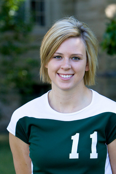 "#11 Michelle Barum<br /> 6'1"" Freshman<br /> Middle Blocker<br /> Prior Lake, MN – Prior Lake HS<br /> Business<br /> Jeff and Lori Barum"