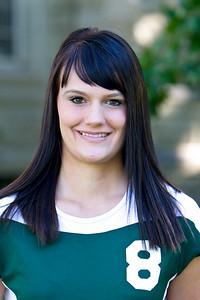 """#8 Kylie Griffeth 6'2"""" Senior Middle Blocker Preston, ID – MSU-Northern Education Scott and Lori Griffeth"""