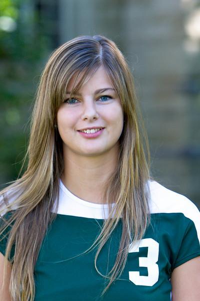 """#3 Katharina Hinrichsen<br /> 5'11"""" Freshman<br /> Outside Hitter<br /> Eckernforde, Germany – Ernst Barlach HS<br /> Undecided<br /> Uai and Uirsten Hinrichsen"""
