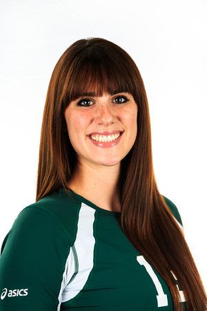 "#13 Kylie Nielsen<br /> Position: Outside Hitter<br /> Height: 6'0""<br /> Class: Freshman<br /> Hometown: Billings, MT"