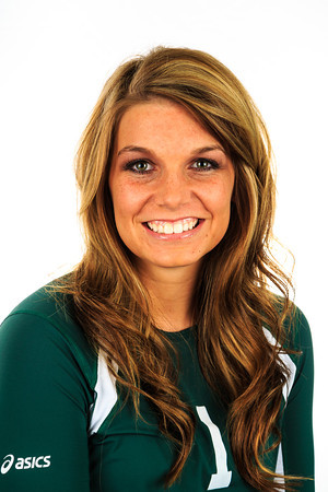 "#1 Michaela Hale<br /> Position: Defensive<br /> Specialist<br /> Height: 5'4""<br /> Class: Senior<br /> Hometown: Fairbanks, AK"
