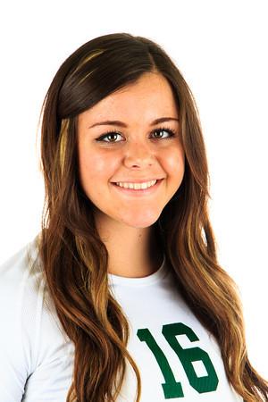 #16 Brooke Myers<br /> Position: OH<br /> Class: Sophomore<br /> Hometown: Cody, Wyoming