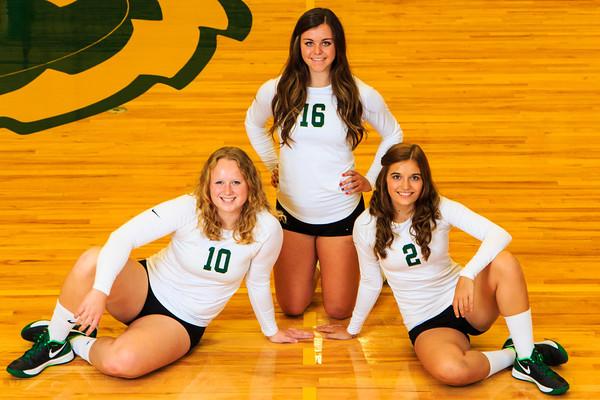 Sky Gabel, Brooke Myers, Shayna Lloyd