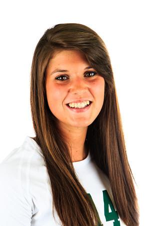 #14 Anna Dewald<br /> Position: MB<br /> Class: Junior<br /> Hometown: Windsor, Colorado