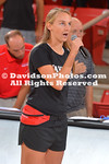 NCAA WOMENS VOLLEYBALL:  SEP 04 Hampton at Davidson