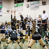 2010 Eagle Rock Volleyball vs Sylmar Spartans