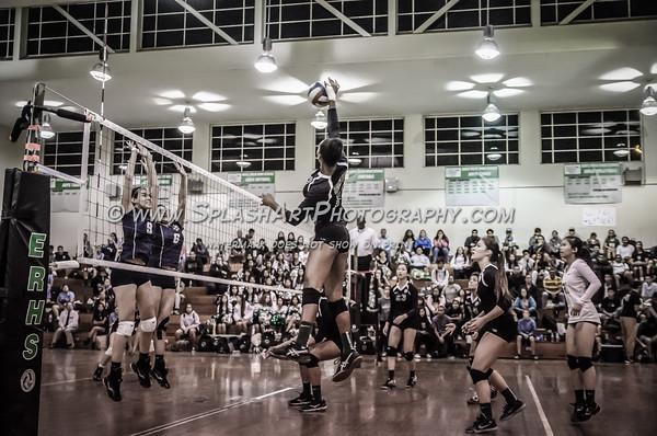 2015 Eagle Rock Volleyball vs Sylmar Spartans