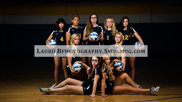 Varsity volleyball 2015