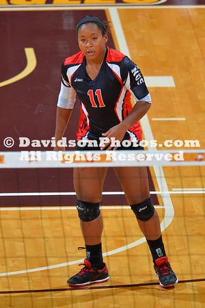 NCAA WOMENS VOLLEYBALL:  SEP 19 West Virginia vs Davidson