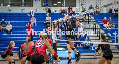Varsity Volleyball - Heritage @ THS - Corso (22 of 64)