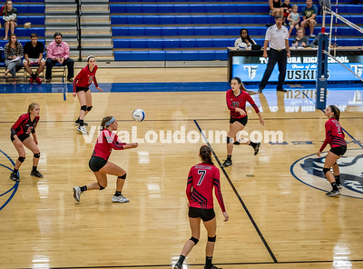 Varsity Volleyball - Heritage @ THS - Corso (18 of 64)