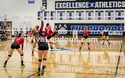 Varsity Volleyball - Heritage @ THS - Corso (9 of 64)