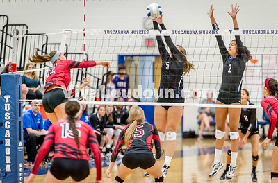 Varsity Volleyball - Heritage @ THS - Corso (14 of 64)