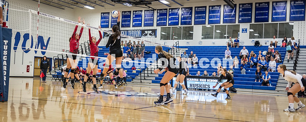 Varsity Volleyball - Heritage @ THS - Corso (23 of 64)