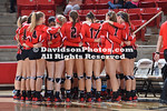 NCAA WOMENS VOLLEYBALL:  OCT 30 Fordham at Davidson