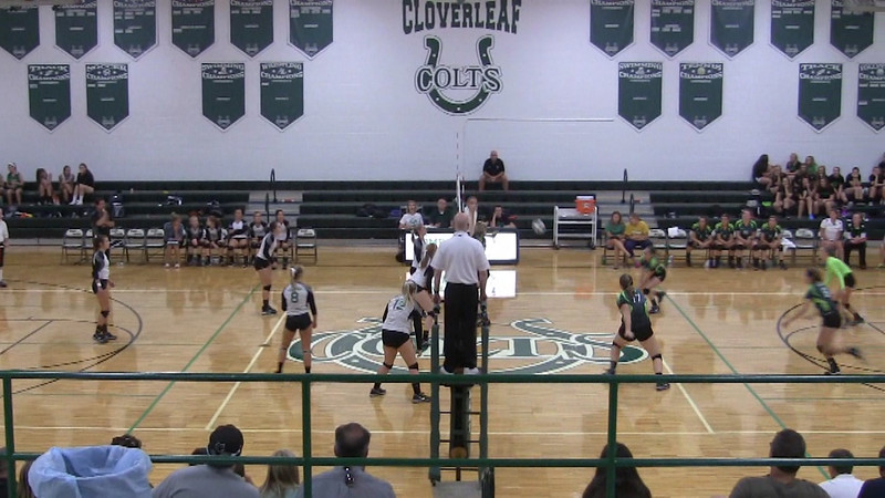 Lady Raiders vs Cloverleaf Colts W 3/4