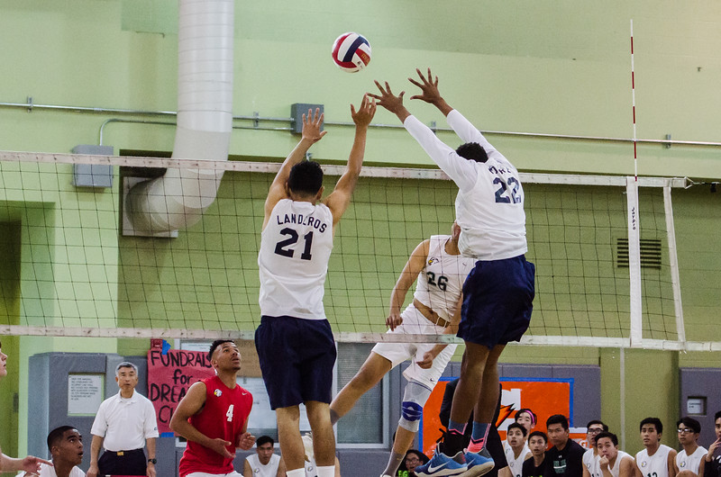 2016 Eagle Rock Boys Volleyball vs Chatsworth