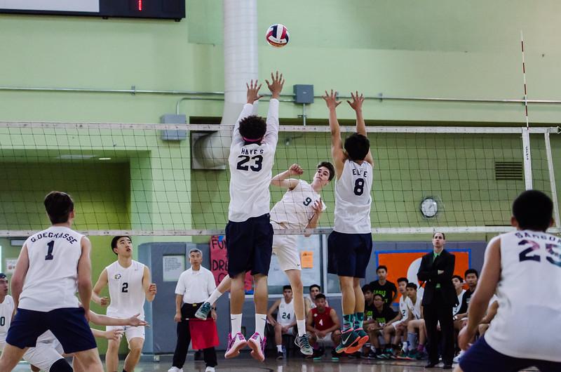 2016 Eagle Rock Boys Volleyball vs Chatsworth