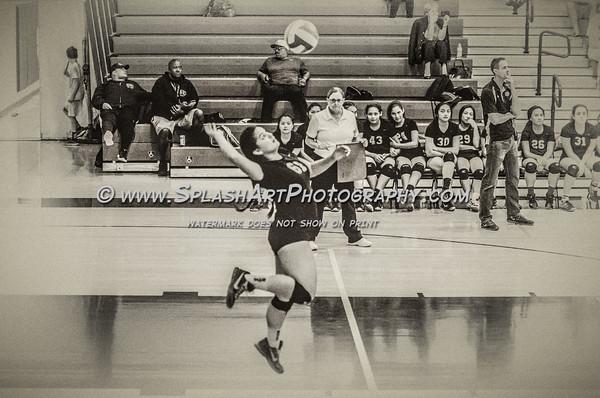 2016 Eagle Rock Girls Volleyball vs Granada Hills Highlanders