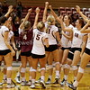 20160922 Womens Volleyball Seattle Pacific University Falcons versus Western Oregon University Wolves Snapshots
