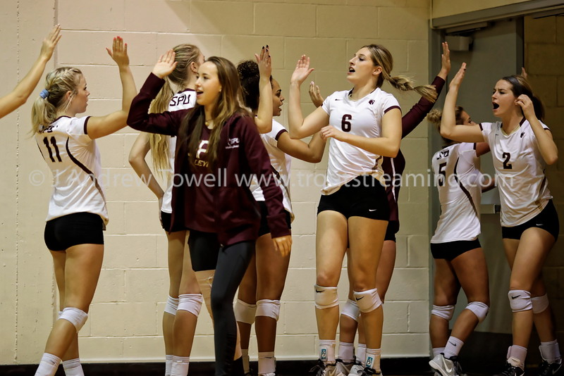 20161027 Womens Volleyball Seattle Pacific University Falcons versus Central Washington University Wildcats Snapshots
