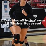 NCAA WOMENS VOLLEYBALL:  SEP 08 Georgia at Davidson