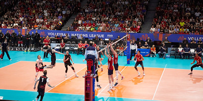 Volleyball Nations League - itsAllAboutTheLight.ca