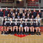 NCAA VOLLEYBALL:  AUG 10 Davidson Photo Day