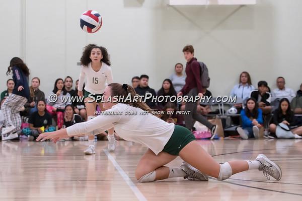 2019 Eagle Rock Volleyball vs Carson