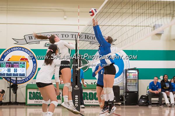 2019 Eagle Rock Volleyball vs El Camino Real